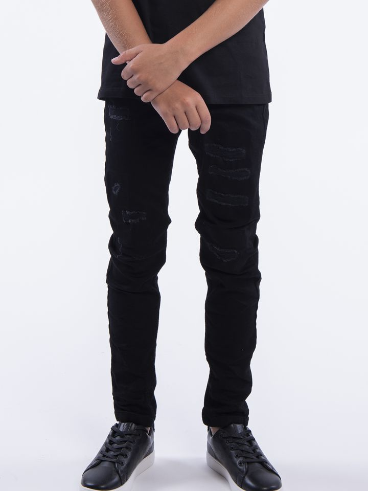 ג'ינס סקיני שחור קלאסי