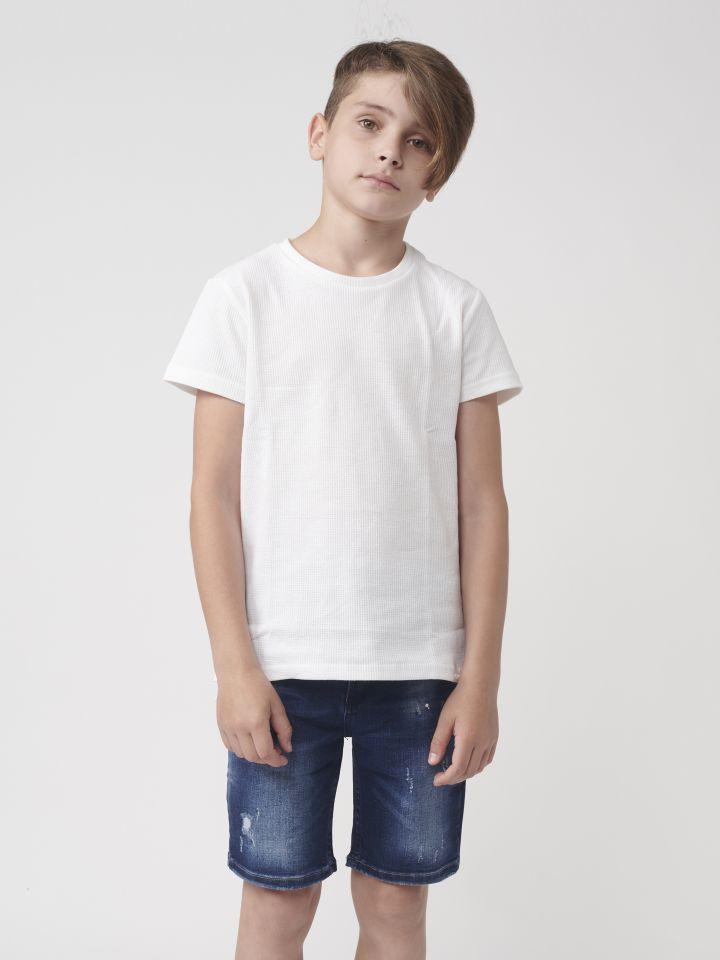 ברמודה ג`ינס עם שריטות