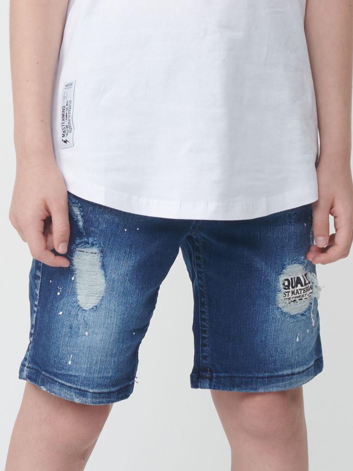 ברמודה ג`ינס עם שפריצים