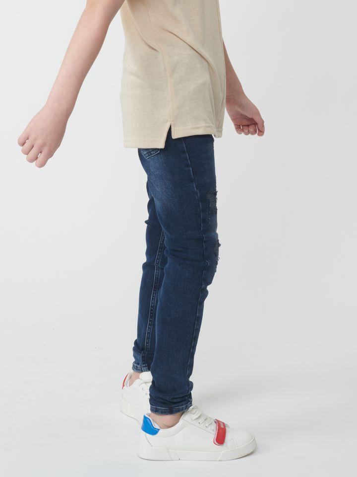 ג'ינס עם שטיפה