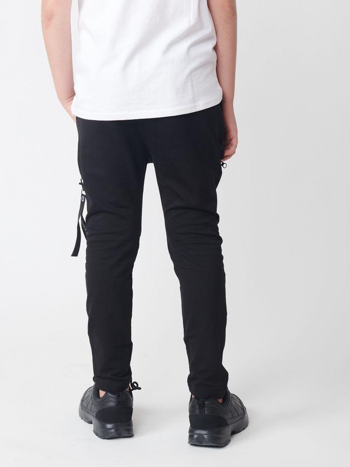 מכנסי בד במראה דגמח