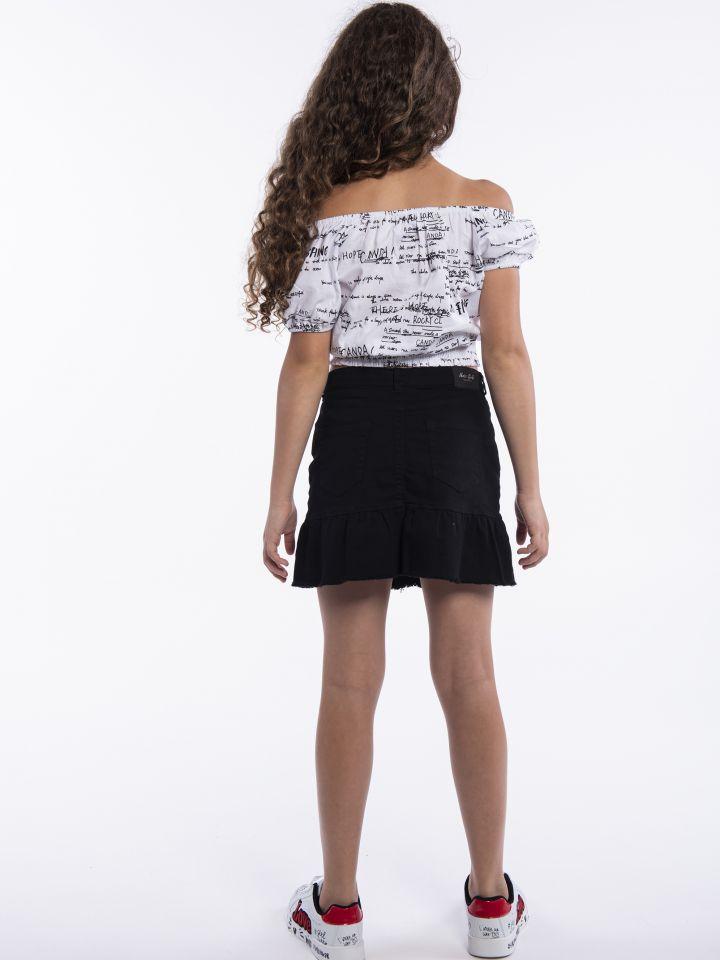 חולצת אריג אולאובר