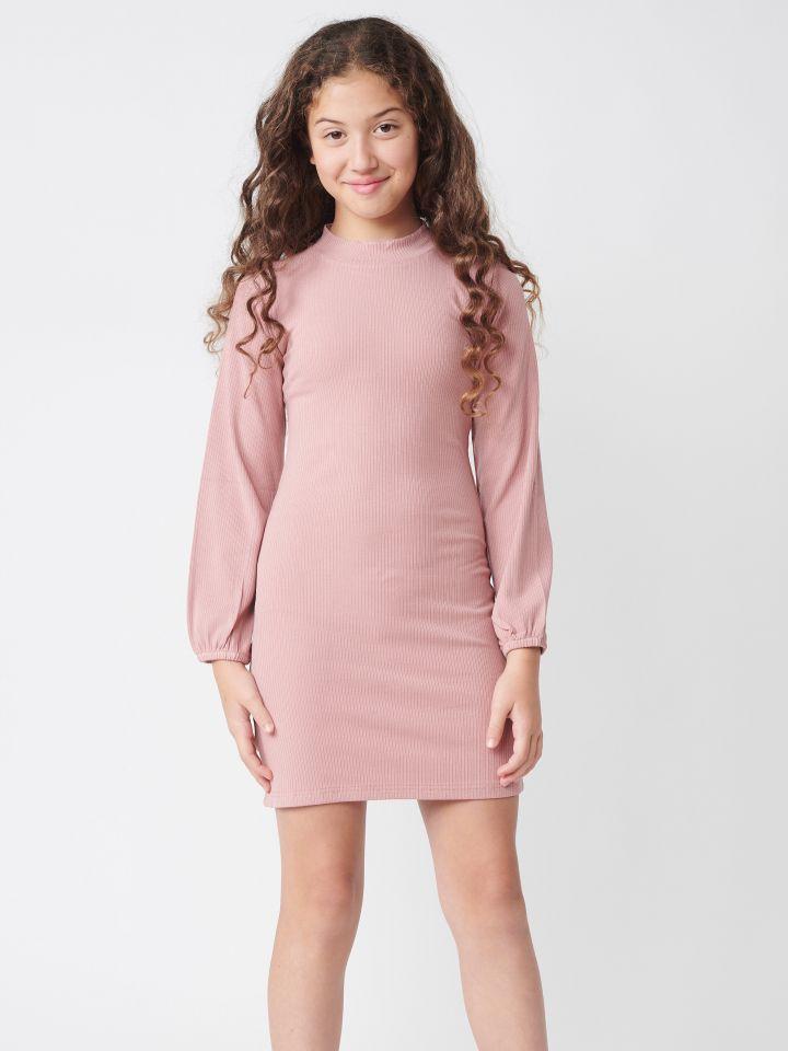 שמלה בטקסטורת ריב