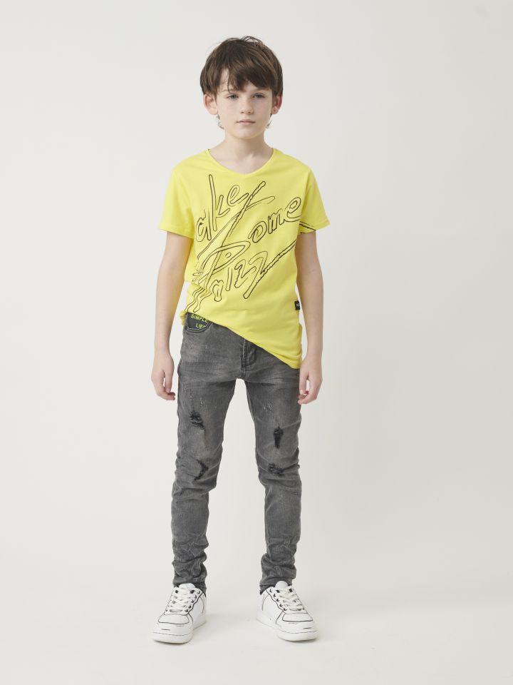 ג`ינס סקיני בשילוב טלאים