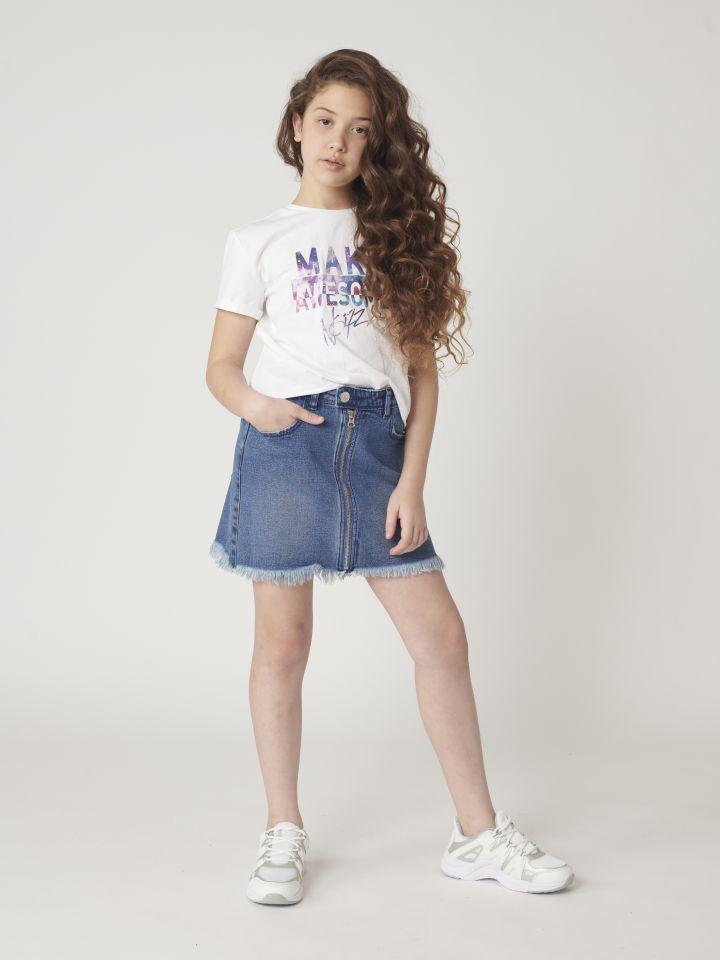 חצאית ג`ינס מיני