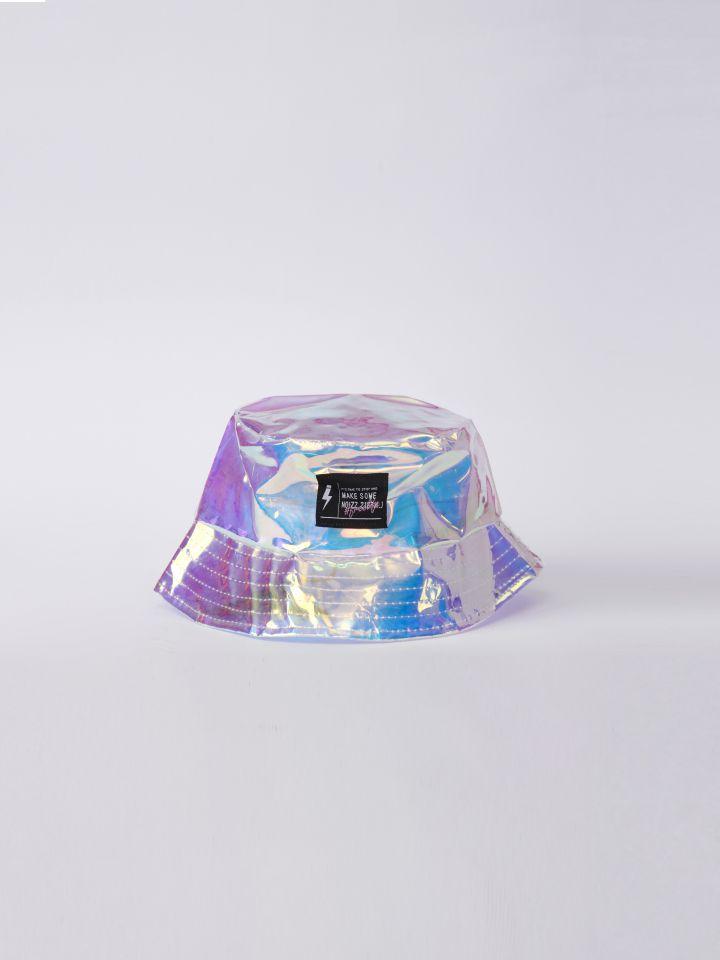 כובע הולוגמה שקוף