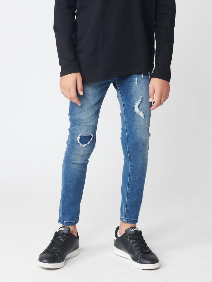 ג`ינס ג`וגר במראה משופשף
